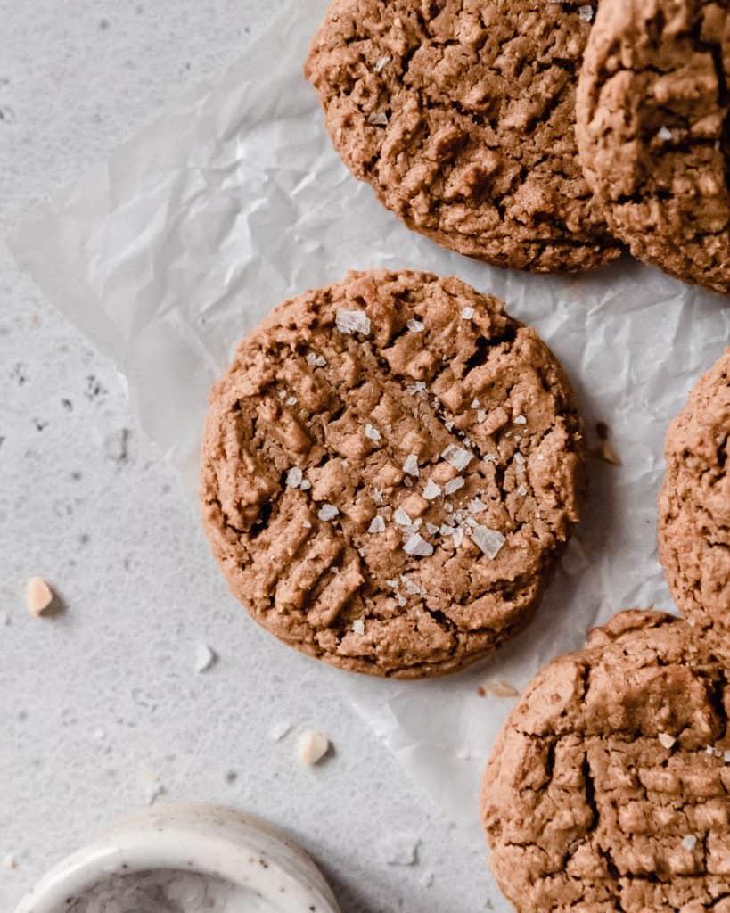 Peanut Butter Cookie Recipe Image